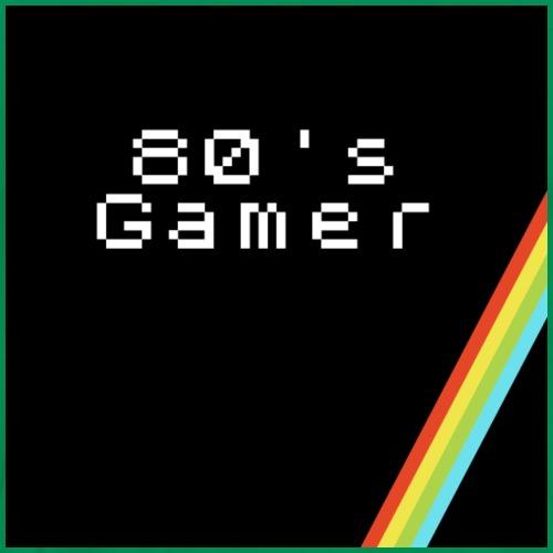 80 s Gamer Black - Men's Premium T-Shirt
