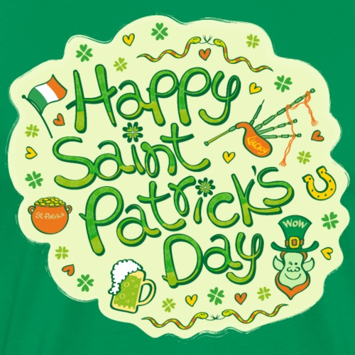 Celebrate St. Patrick's Day in style - Men's Premium T-Shirt