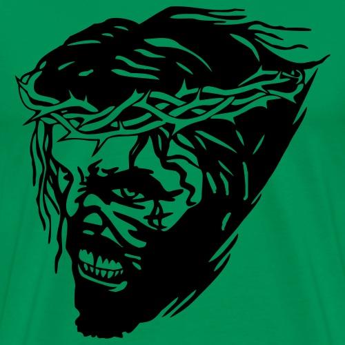 JESUS scream - Männer Premium T-Shirt