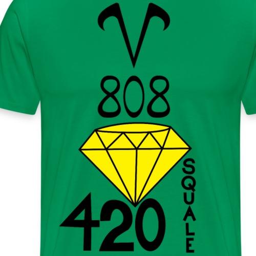 V808 diamant canari - T-shirt Premium Homme