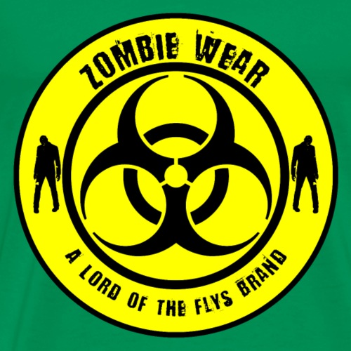 Zombie Wear a Lord of the Flys Brand - Männer Premium T-Shirt