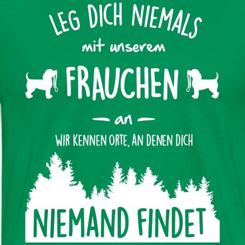 Unser Frauchen - Männer Premium T-Shirt