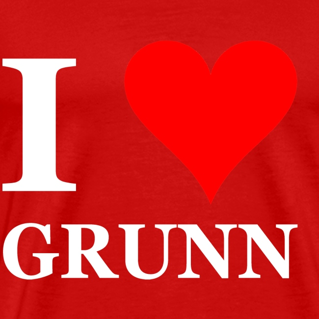 I love Grunn I love Groningen