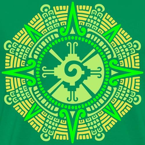 Mayan Moonstone Hunab Ku - Men's Premium T-Shirt