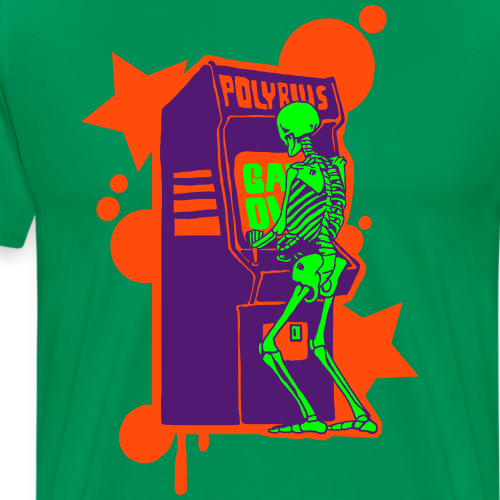Hi-Score: Crazy Neon - Koszulka męska Premium