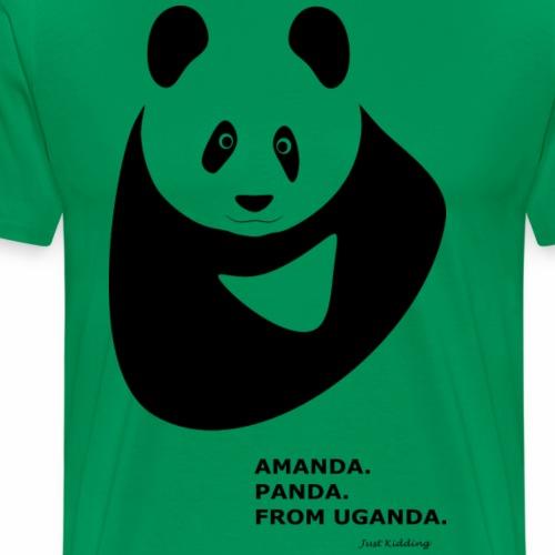 Panda from Uganda - Men's Premium T-Shirt