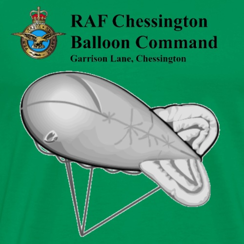 Chessington, Balloon Command - Men's Premium T-Shirt