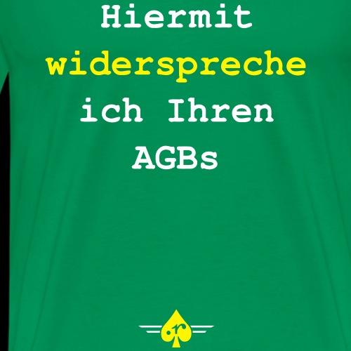 AGB - Männer Premium T-Shirt