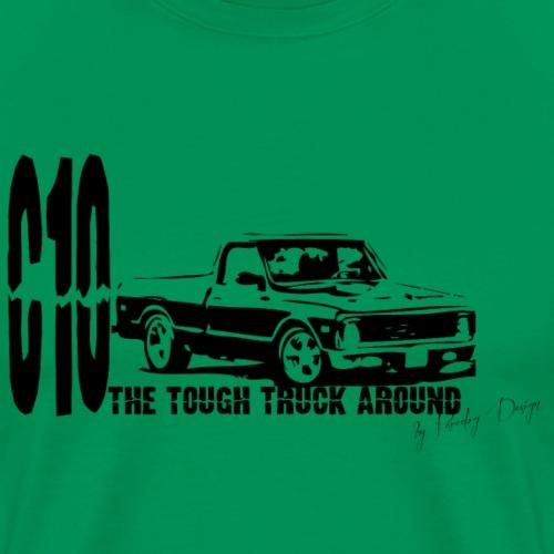 c10 - Herre premium T-shirt