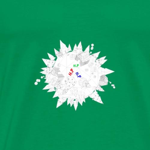 herman planet - Premium-T-shirt herr
