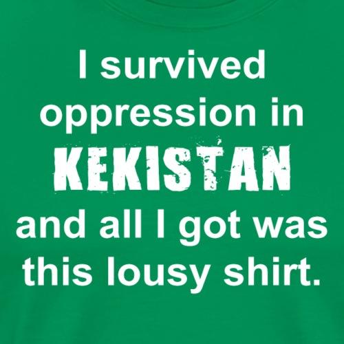 I survived Kekistan - Men's Premium T-Shirt