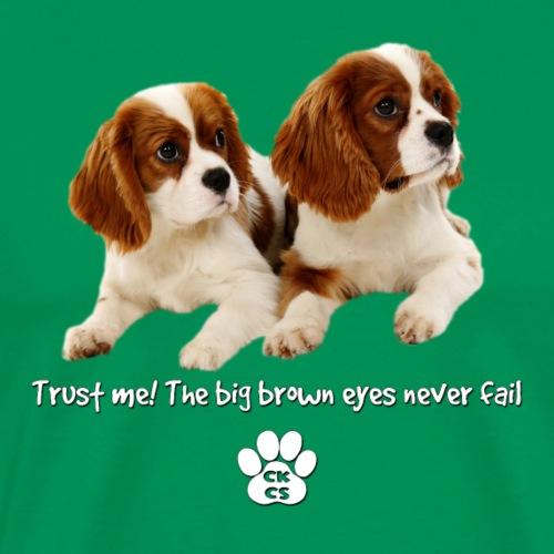 The big brown eyes - Men's Premium T-Shirt