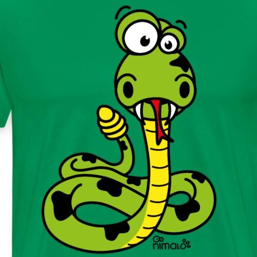 nimalÒserpent à sonnette - T-shirt Premium Homme