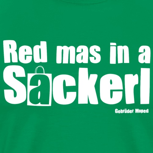 Red mas in a Sackerl