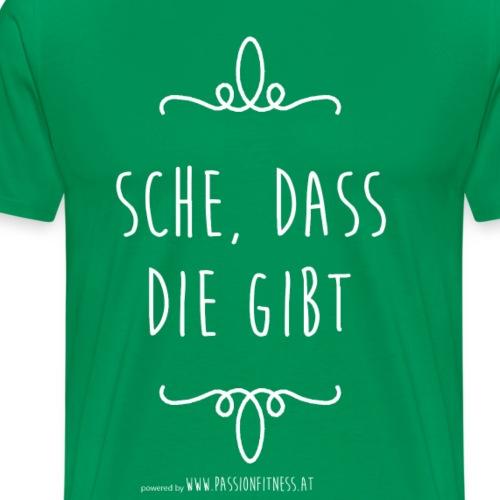 SCHE-_DASS_DIE_GIBT - Männer Premium T-Shirt
