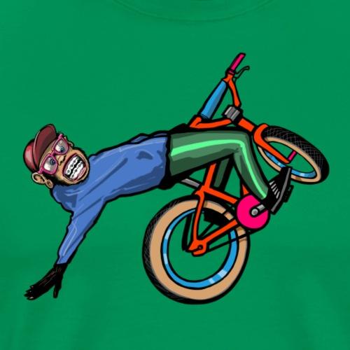 Wheelie Schimpanse - Männer Premium T-Shirt
