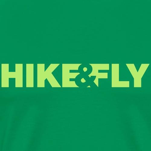 Hike Fly - Männer Premium T-Shirt