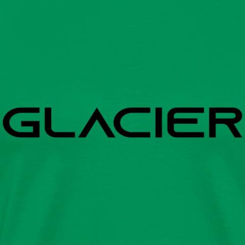 Glacier black - Miesten premium t-paita