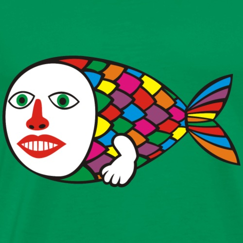 Human Fish - Men's Premium T-Shirt