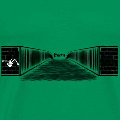 Born Design Broken Bass BK - Männer Premium T-Shirt