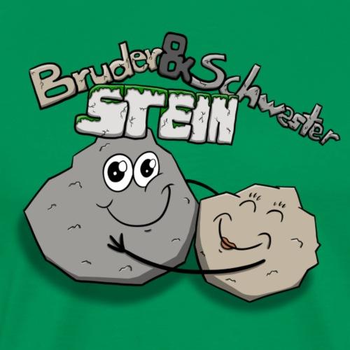 Steinchen - Männer Premium T-Shirt