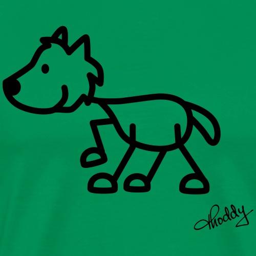 wolf - Männer Premium T-Shirt