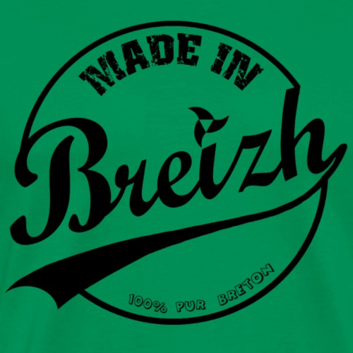 MADE IN BREIZH BLACK - T-shirt Premium Homme