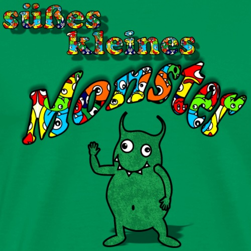 Süßes kleines Monster - Männer Premium T-Shirt
