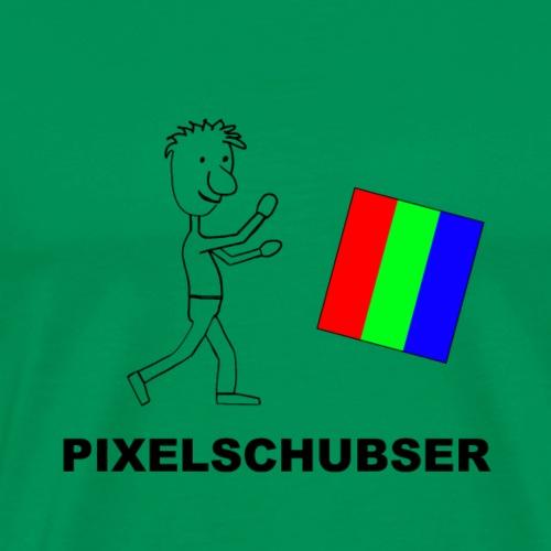 Pixelschubser_b - Männer Premium T-Shirt