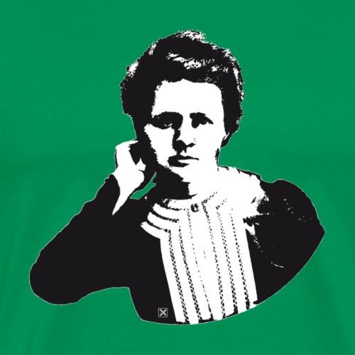 Marie Curie - Men's Premium T-Shirt