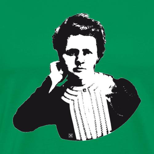 Marie Curie - Camiseta premium hombre