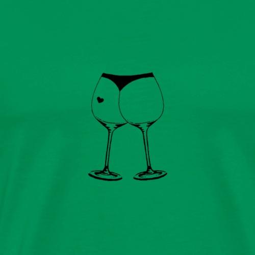 Bottle Ass - Männer Premium T-Shirt