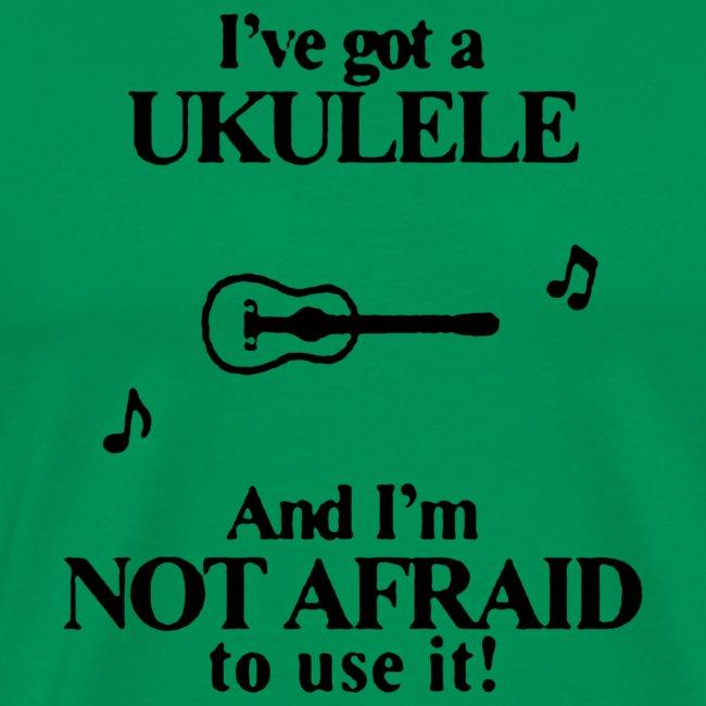 Black I ve Got A Ukulele