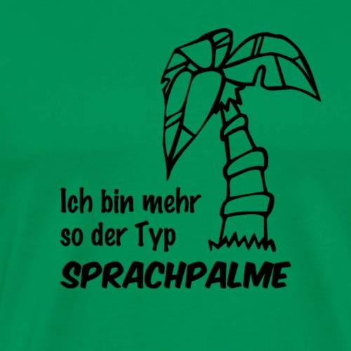 Sprachpalme - Männer Premium T-Shirt