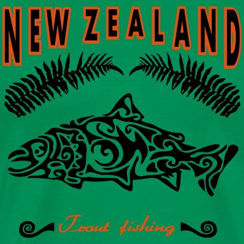 maori trout - Männer Premium T-Shirt