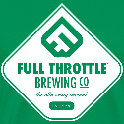 FullThrottle Brewing Co. - Mannen Premium T-shirt