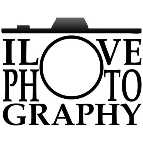 I Love Photogarphy - Männer Premium T-Shirt