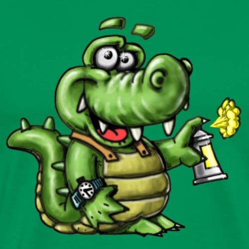 Crocodile Graffeur - T-shirt Premium Homme