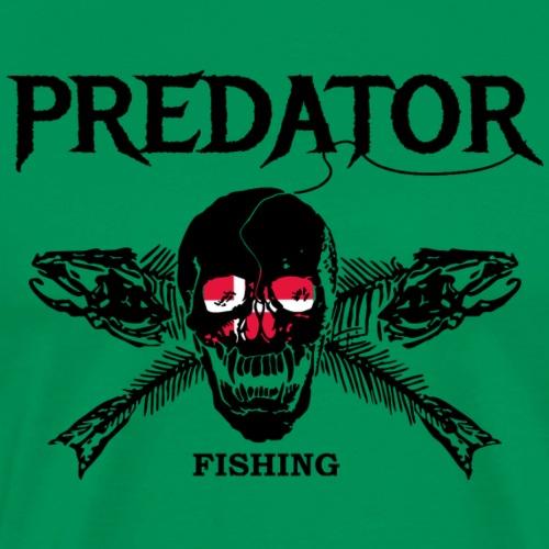 predator fishing dänemark - Männer Premium T-Shirt