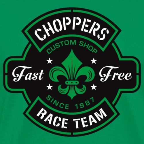 Choppers Emblème Design - T-shirt Premium Homme