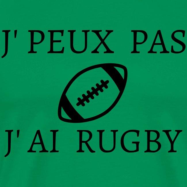 J'peux pas J'ai rugby