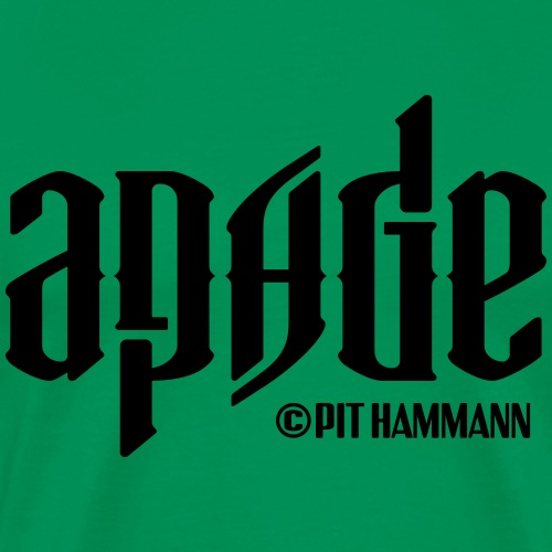 Ambigramm Apage 01 Pit Hammann - Männer Premium T-Shirt