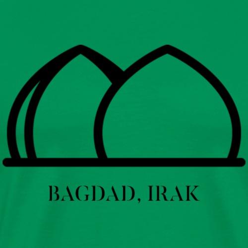 AL SHAHEED MONUMENT BAGDAD IRAK - BLACK - T-shirt Premium Homme