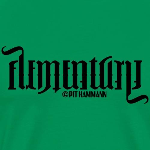 Ambigramm Elementary 01 Pit Hammann - Männer Premium T-Shirt