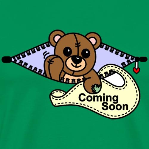 Bärchen Coming Soon - Männer Premium T-Shirt