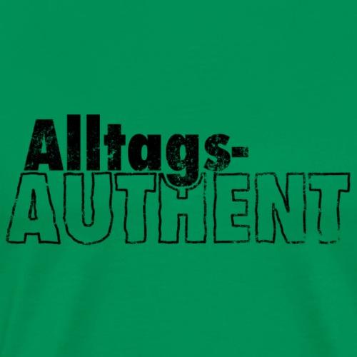 AlltagsAUTHENT schwarz - Männer Premium T-Shirt