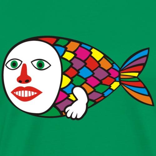 Human Fish - Men's Premium T-Shirt