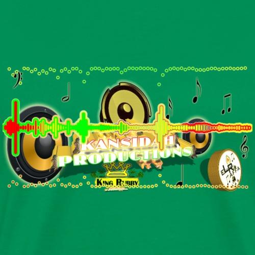 Kansidah Audiowave Music - Männer Premium T-Shirt