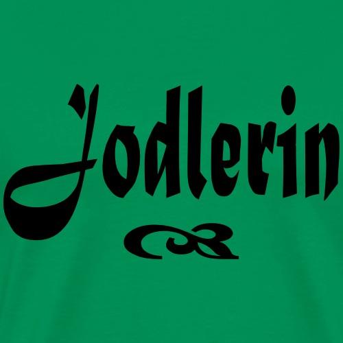 Jodlerin - Männer Premium T-Shirt