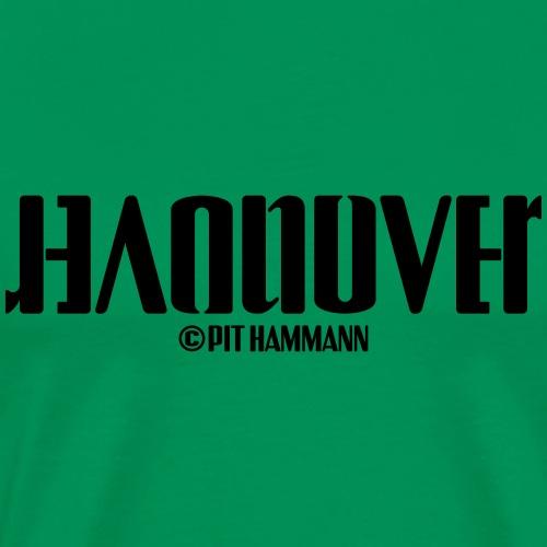 Ambigramm Hannover 01 Pit Hammann - Männer Premium T-Shirt